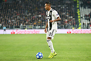 Juventus Defender Alex Sandro during the Champions League Group H match between Juventus FC and Manchester United at the Allianz Stadium, Turin, Italy on 7 November 2018.