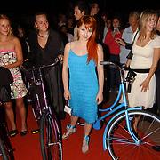 Premiere Stille Nacht, Christel Oomen, Josefien Hendriks, Victoria Koblenko en Caro Lenssen