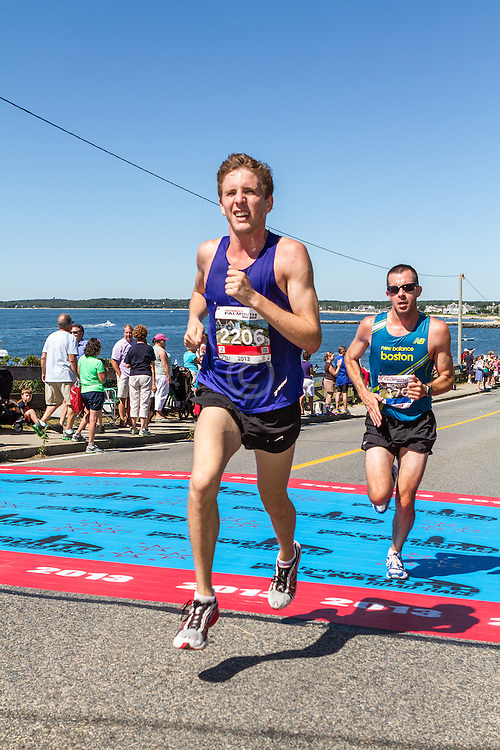 41st Falmouth Road Race: Kevin Fitzgerald, Michael Maceiko