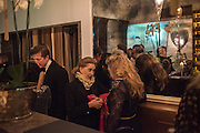 PATRICIA RAWLINGS, Nicky Haslam hosts dinner at  Gigi's for Leslie Caron. 22 Woodstock St. London. W1C 2AR. 25 March 2015