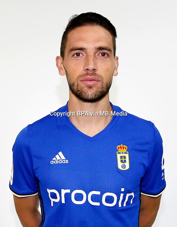 Spain - La Liga B 123 _ 2016-2017 / <br /> ( Real Oviedo ) - <br /> David Mateos Rocha &quot; David Rocha &quot;
