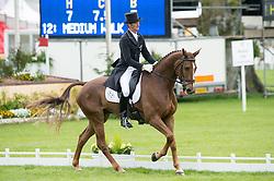Todd Mark, (NZL), Oloa<br /> Dressage <br /> Mitsubishi Motors Badminton Horse Trials - Badminton 2015<br /> © Hippo Foto - Jon Stroud<br /> 08/05/15