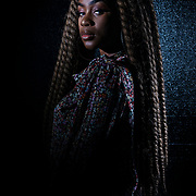 """UVU Black Student Union student photo shoot for """"A Place For You"""" Campaign in the studio on the campus of Utah Valley University in Orem, Utah, Tuesday Jan. 28, 2020. (August Miller, UVU Marketing)"""