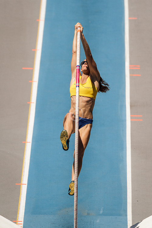 adidas Grand Prix Diamond League Track & Field: Women's Pole Vault, Fabiana Murer, Brazil,
