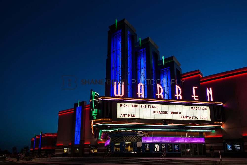 8/10/15 8:38:44 PM --  Exterior photos of the Warren Theatre in Broken Arrow, Oklahoma. <br /> <br /> Photo by Shane Bevel