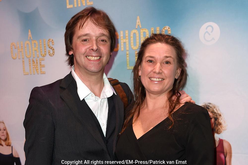 Premiere van A Chorus Line in het Zaantheater te Zaandam.<br /> <br /> Op de foto:  Peter Lusse
