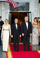State Dinner at White House - 24 April 2018