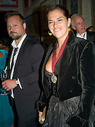 JUERGEN TELLER AND TRACEY EMIN, 240th Royal Academy Summer Exhibition. Annual dinner. Piccadilly. London. 3 June 2008.  *** Local Caption *** -DO NOT ARCHIVE-© Copyright Photograph by Dafydd Jones. 248 Clapham Rd. London SW9 0PZ. Tel 0207 820 0771. www.dafjones.com.