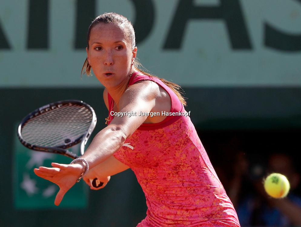 French Open 2011, Roland Garros,Paris,ITF Grand Slam Tennis Tournament, Jelena Jankovic (SRB), Einzelbild,Aktion,