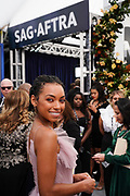 Actress, 2020 SAG Awards Ambassador Logan Browning
