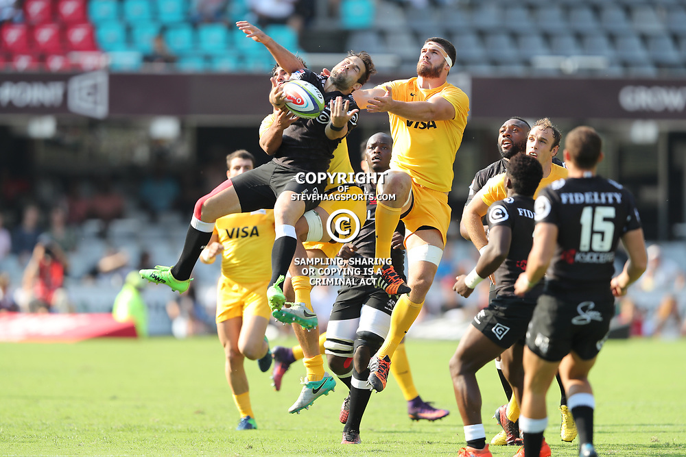 General views during the Super Rugby match between the Cell C Sharks and the Jaguares  April 8th 2017 - at Growthpoint Kings Park,Durban South Africa Photo by Anesh Debiky (Steve Haag Sports)