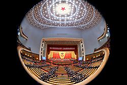 Members of the 12th National Committee of the Chinese People's Political Consultative Conference leave after the closing meeting of the annual session of the country's top political advisory body at the Great Hall of the People in Beijing, capital of China, March 14, 2016. EXPA Pictures © 2016, PhotoCredit: EXPA/ Photoshot/ Pang Xinglei<br /> <br /> *****ATTENTION - for AUT, SLO, CRO, SRB, BIH, MAZ, SUI only*****