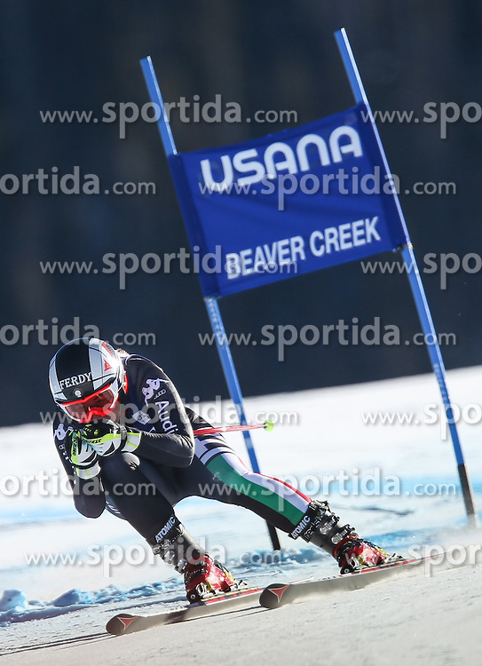 30.11.2013, Birds of Prey Raptor, Beaver Creek, USA, FIS Ski Weltcup, Beaver Creek, SuperG, Damen, Rennen, im Bild Sofia Goggia (ITA) // Sofia Goggia of Italy in action during the ladies Super-G of the Beaver Creek FIS Ski Alpine World Cup at the Birds of Prey Raptor in Beaver Creek, United States on 2012/11/30. EXPA Pictures © 2013, PhotoCredit: EXPA/ Johann Groder