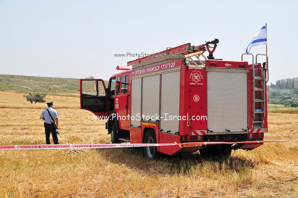 Israel, Fire Brigade exhibition
