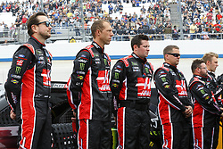 May 6, 2018 - Dover, Delaware, United States of America - Kurt Busch (41) hangs out on the grid before racing in the AAA 400 Drive for Autism at Dover International Speedway in Dover, Delaware. (Credit Image: © Chris Owens Asp Inc/ASP via ZUMA Wire)