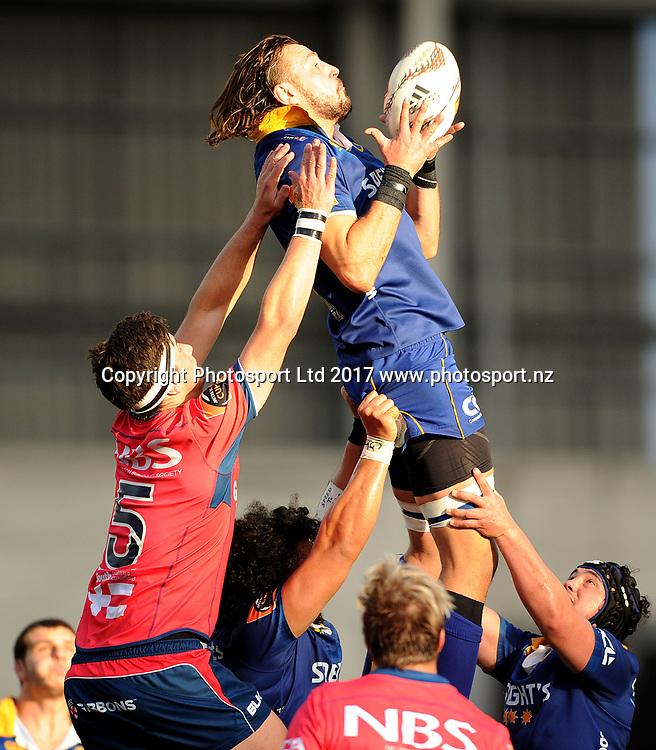 Josh Furno of Otago. Otago v Tasman. Mitre 10 Cup Championship Rugby Union. Forsyth Barr Stadium, Dunedin, New Zealand. 16 September 2017. Copyright Image: Joe Allison / www.photosport.nz