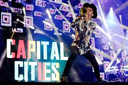 Capital Cities no palco central do Planeta Atlântida 2015, que acontece nos dias 30 e 31 de Janeiro de 2015, na Saba, em Atlântida. FOTO: Emmanuel Denaui/ Agência Preview