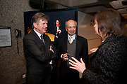 CHRISTOPHER PURVIS; HAMID HAKIMZADEH, LA Philharmonic reception, Fountain room, Barbican. 27 January 2011 -DO NOT ARCHIVE-© Copyright Photograph by Dafydd Jones. 248 Clapham Rd. London SW9 0PZ. Tel 0207 820 0771. www.dafjones.com.