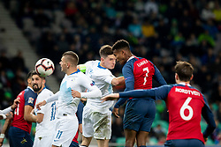 Ola Kamara of Norway during football match between National Teams of Slovenia and Norway in Final Tournament of UEFA Nations League 2019, on November 16, 2018 in SRC Stozice, Ljubljana, Slovenia. Photo by Urban Urbanc / Sportida