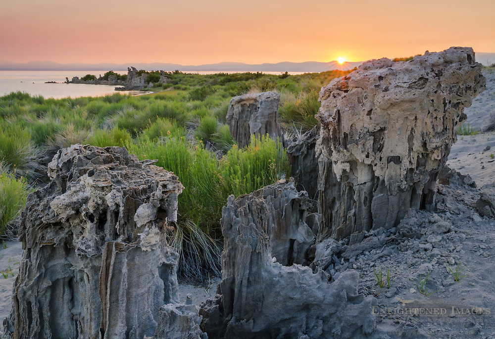 Sand Tufa along the South Shore of Mono Lake, Mono County, Eastern Sierra, California