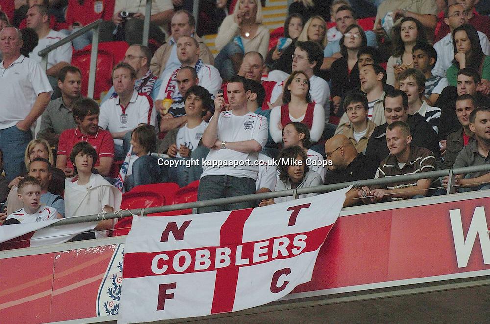 Northampton Town Flags, England-Israel, Euro 2008, Wembley 8/9/2007