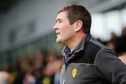 Burton Albion manager Nigel Clough during the EFL Sky Bet Championship match between Burton Albion and Brentford at the Pirelli Stadium, Burton upon Trent, England on 18 March 2017. Photo by Richard Holmes.