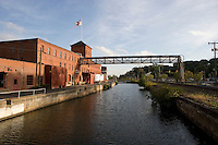 Ahlstrom FiberComposites Plant along the Connecticut River at Windsor Locks Canal, Windsor Locks, CT