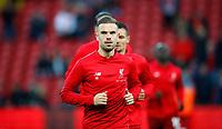 Football - 2018 / 2019 Premier League - Liverpool vs. Huddersfield Town<br /> <br /> Jordan Henderson of Liverpool at Anfield.<br /> <br /> COLORSPORT/LYNNE CAMERON