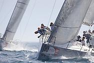 ITALY, Sardinia, Cagliari, AUDI MedCup, 24th July 2009,  Autonomous Region of Sardinia Trophy,TP52, Race 8, Bigamis7.