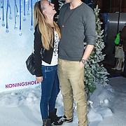 NLD/Aalsmeer/20131206 - Premiere Frozen, Raynor Arkenbout en partner Sietske van der Bijl