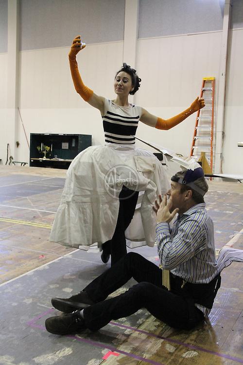 Magic Flute, Mozart, opera, rehearsal, Seattle Opera, SORS, Chris Alexander (director), Gary Wedow (conductor),
