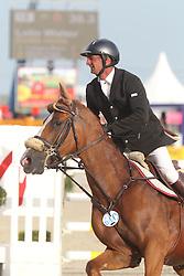 Lelie Walter (BEL) - Gotile Horta<br /> Belgisch kampioenschap jonge springpaarden Gesves 2012<br /> © Hippo Foto - Counet Julien