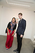 NOORI ZAID; ADAM PETERS; , Fashion Show: Robert Mapplethorpe. Alison Jacques Gallery. Berners St. London. 10 September 2013