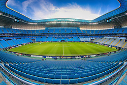 Vista geral da Arena do Grêmio, localizada no bairro Humaitá, zona norte de Porto Alegre. O estádio será utilizado como campo oficial de treino durante a Copa do Mundo de 2014. FOTO: Jefferson Bernardes/Preview.com