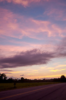Pastel Sky at Dawn. 10 of 13 Images taken with a Leica X2 camera and 24 mm f/2.8 lens (ISO 125, 24 mm, f/2.8, 1/30 sec). Raw images processed with Capture One Pro and the panorama generated using AutoPano Giga Pro.