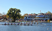 Cambridge. MA. USA. General views of and round the Cambridge Boathouse,  Head of the Charles. <br /> <br /> Sunday  20/10/2013 <br /> <br /> [Mandatory Credit.Intersport Images]