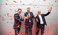 No repro fee<br /> 24-5-2018<br /> **Circle K launches Ireland&rsquo;s biggest ever fuel and food giveaway**<br /> Pictured (L-R) are Niall Anderton, Managing Director of Circle K Ireland; Jacob Schram, Group President of European Operations, Circle K; and  J&oslash;rn Madsen, Executive Vice President, Circle K Europe and Ireland,who today announced the details of Ireland&rsquo;s biggest ever fuel and food giveaway. Valued at &euro;500,000, selected Circle K sites across Ireland will roll out a whole host of special offers over the coming months for motorists and consumers to enjoy, in line with the rollout of the Circle K brand in Ireland. Today&rsquo;s announcement coincides with the unveiling of a newly rebranded Circle K service station, located at City Avenue in Citywest Business Campus, Co. Dublin. Circle K City Avenue has now officially joined the retailer&rsquo;s Family of Merchants, bringing Circle K&rsquo;s extensive offering to the local area.Pic:Naoise Culhane-no fee<br /> ENDS<br /> For further information, please contact: <br /> Saoirse Whelan / Teneo PSG&nbsp;saoirse.whelan@notorious.ie&nbsp;- 087 9543089<br /> Se&aacute;n O&rsquo;Brien / Teneo PSG / sean.obrien@teneopsg.com / 087 755 4531<br /> Pic:Naoise Culhane-no fee