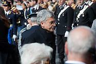 2013/03/23 Roma, funerali del Capo della Polizia. Nella foto Massimo D'Alema.<br /> Rome, Chief of Police funerals. In the picture Massimo D'Alema - &copy; PIERPAOLO SCAVUZZO