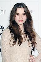 LONDON - DECEMBER 09: Alice Englert attended The British Independent Film Awards at the Old Billingsgate Market, London, UK. December 09, 2012. (Photo by Richard Goldschmidt)