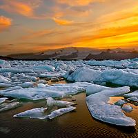 Jokulsarlon Glacier Lagoon 10:27 PM