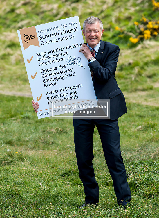Scottish Liberal Democrat leader Willie Rennie launches the party's General Election Commit Card in Edinburgh.<br /> <br /> &copy; Dave Johnston/ EEm