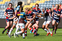 Amber Reed (capt) of Bristol Ladies - Rogan Thomson/JMP - 23/04/2017 - RUGBY UNION - Sixways Stadium - Worcester, England - Bristol Ladies Rugby v Aylesford Bulls - Women's Premiership Final.