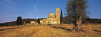 San Antimo abbay, Tuscany, Italy