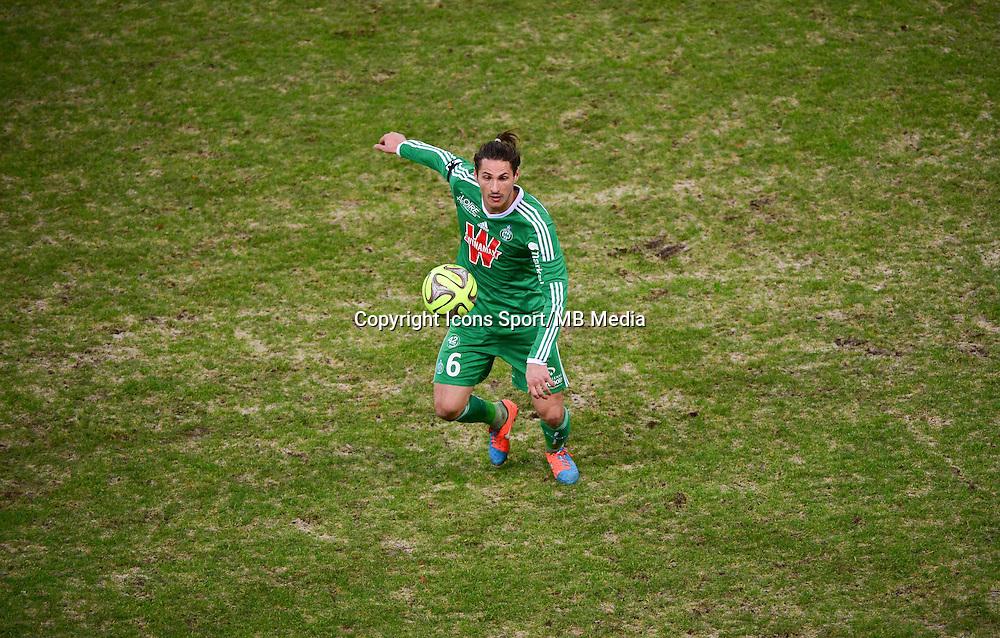 Jeremy CLEMENT  - 10.01.2015 - Reims / Saint Etienne - 20eme journee de Ligue 1<br />Photo : Dave Winter / Icon Sport