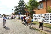 Mannheim. 14.07.17 | Spinelli<br /> Feudenheim. Spinelli. Ehemaliges US Areal wird derzeit als Fl&uuml;chtingsunterkunft verwendet. <br /> 2023 soll hier die Bundesgartenschau BUGA stattfinden.<br /> - Tag der offenen T&uuml;r.<br /> <br /> <br /> BILD- ID 0407 |<br /> Bild: Markus Prosswitz 14JUL17 / masterpress (Bild ist honorarpflichtig - No Model Release!)