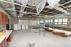 Central High School Bridgeport CT Expansion & Renovate as New. State of CT Project # 015-0174. Classroom. One of 80 Photographs of Progress Submission 38, 5 April 2018