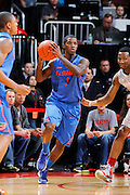 COLUMBUS, OH - NOVEMBER 15: Kenny Boynton #1 of the Florida Gators looks to pass the ball during the game against the Ohio State Buckeyes at Value City Arena on November 15, 2011 in Columbus, Ohio. Ohio State won 81-74. (Photo by Joe Robbins) *** Local Caption *** Kenny Boynton