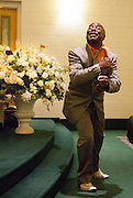 Nelton Shorter, Church Parishioner, Detroit Gospel Church Performances