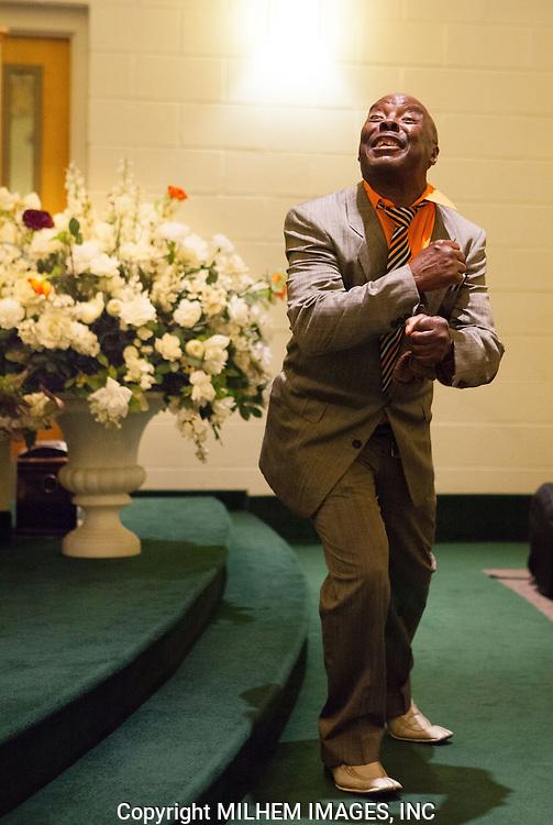 Nelton Shorter, Church Parishioner, Detroit Gospel Church Performances