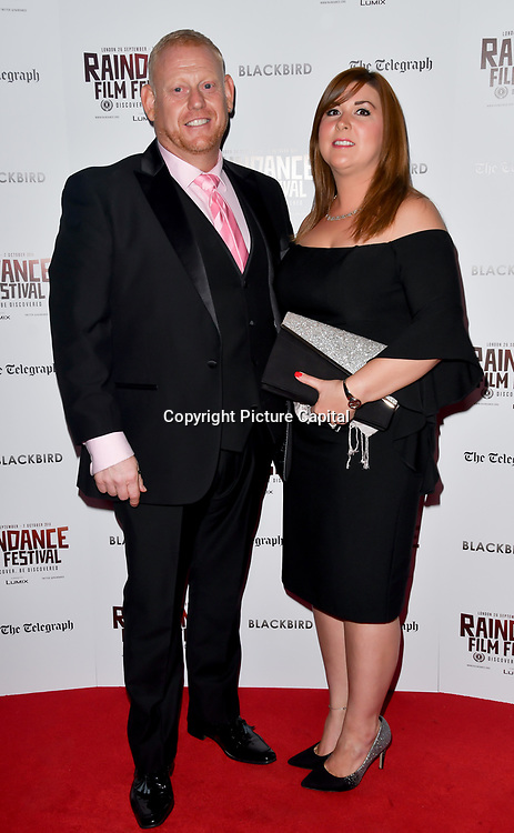 Tony Fadil attend Blackbird - World Premiere with Michael Flatley at May Fair Hotel, London, UK. 28th September 2018.